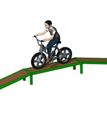 BMX Balance Beam