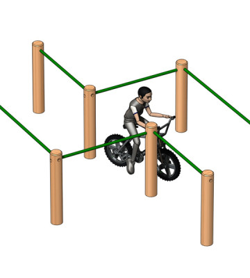 BMX Maze Slalom