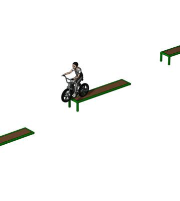 BMX Ramp Run