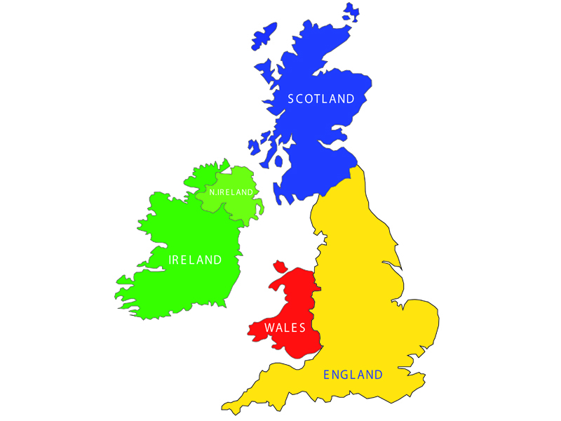 Image result for map of uk