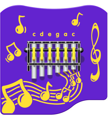 Hand Chimes Music Panel