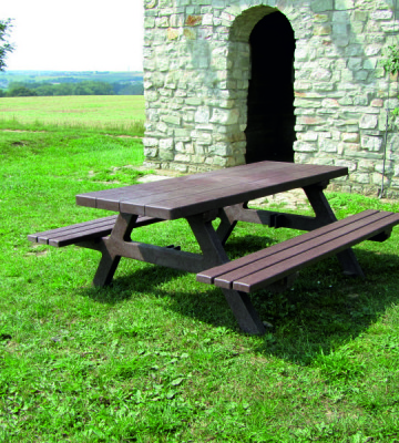 Farnham Recycled Picnic Bench