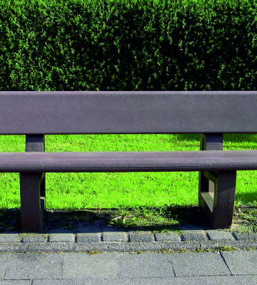 St Ives Recycled Bench