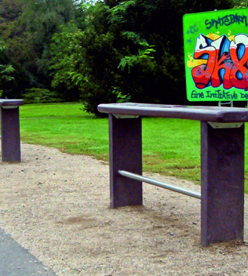 Sudbury Recycled Bench