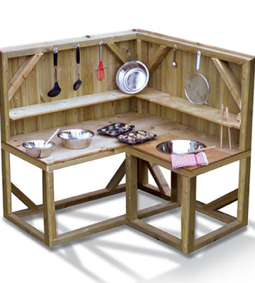 Mud Kitchen - Corner Unit