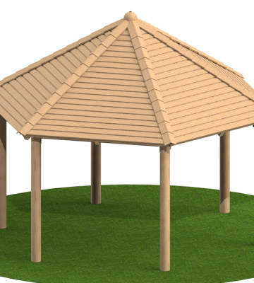 4.0m Hexagonal Shelter