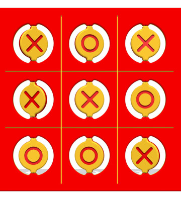 Noughts and Crosses Play Panel