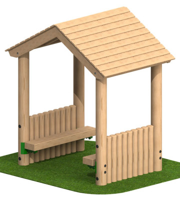 Toddler Shelter with 2 Sides