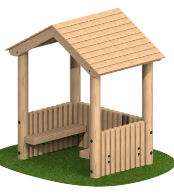 Toddler Shelter with 3 Sides