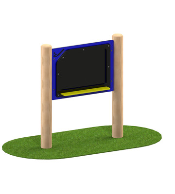 Chalk Board Station Play Panel - Render 1