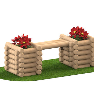 Planter Bench - Render 1