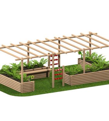 Planter Pergola - Render 1