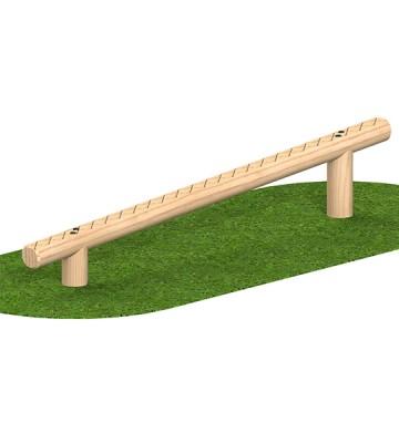 Sloping Balance Walk 2400 x 125mm - Render 1