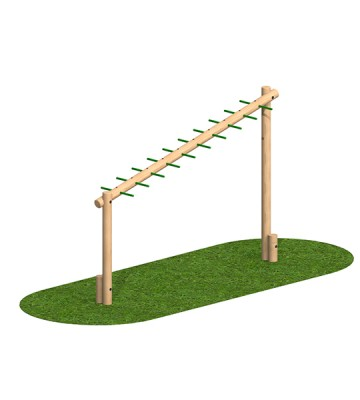 Sloping Monkey Bar - Image 1