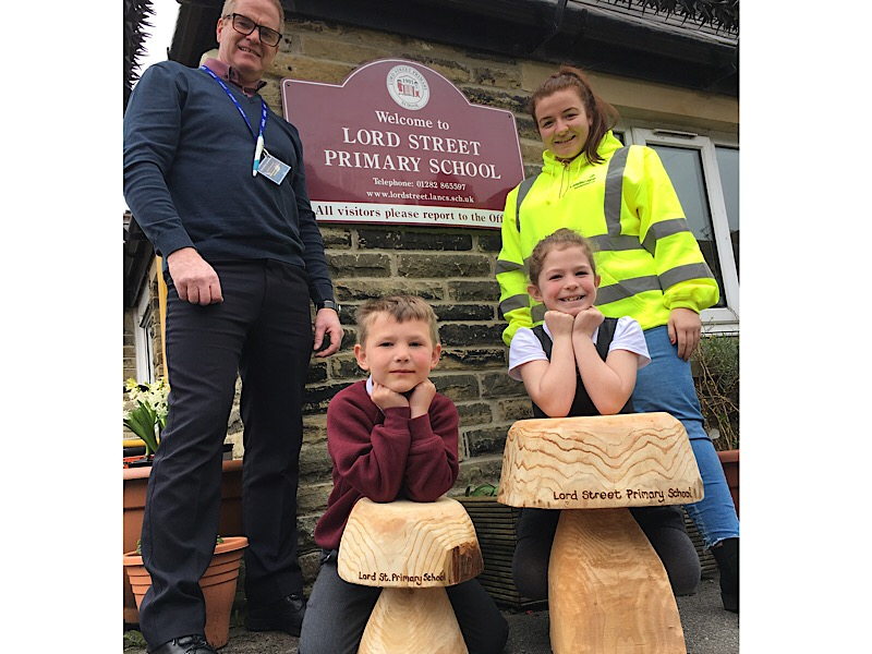 Lord Street Primary School Colne Facebook Competition winners