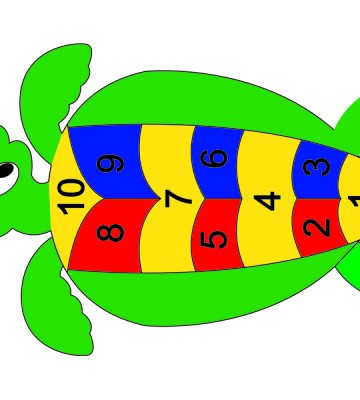 Hopscotch Turtle 1 - 10
