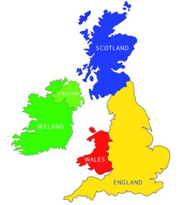 UK Map & Names