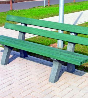 Edinburgh Recycled Bench