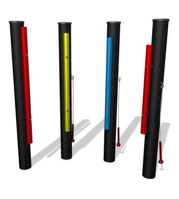 Music Chimes - Set of 4