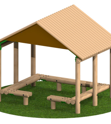 3.0 x 2.4m Shelter