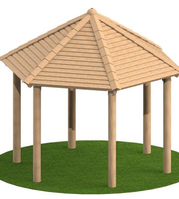 3.0m Hexagonal Shelter
