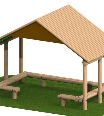 4.0 x 2.4m Shelter