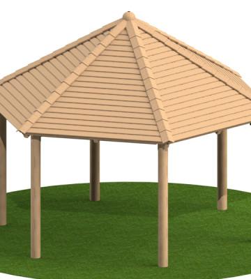 4.0m Hexagonal Shelter