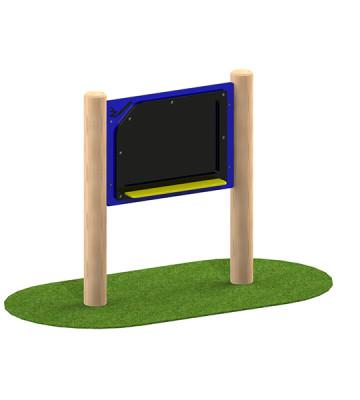 Chalk Board Station Play Panel - Render 1
